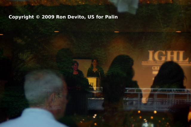 Sarah Palin receives IGHL Award