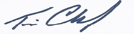 Tim Crawford Signature