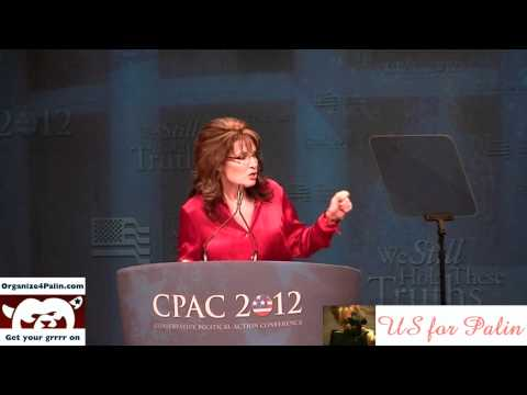 Flashback: Gov. Palin Keynotes CPAC with Epic Speech, Accepts Award