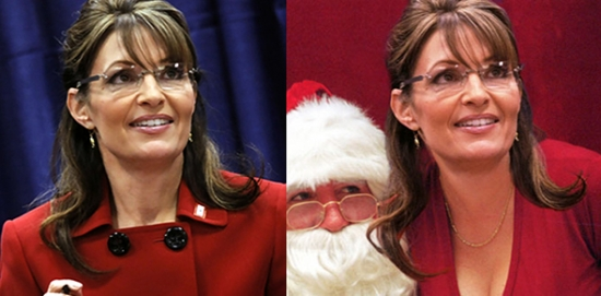 Redstate Sarah Palin Real and Fake side by side