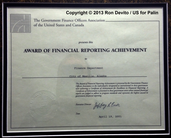 2001-Financial-Reporting-Achievement