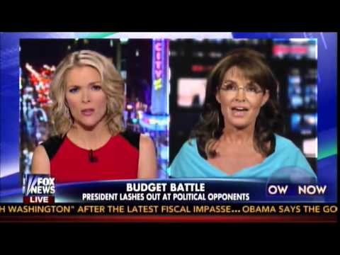 Gov. Palin on Megyn Kelly: Obama's Fundamental Transformation the Enemy