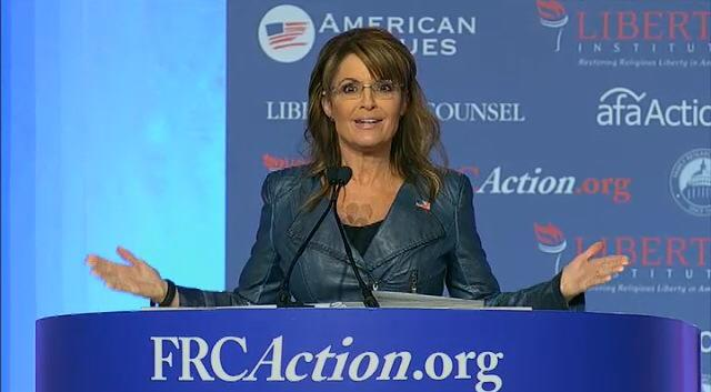 Scorn: Wear it with Pride - Sarah Palin, Values Voter Summit