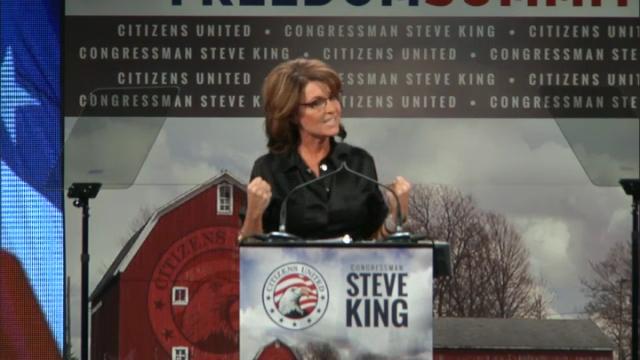 Yes We Can Beat Hillary! - Sarah Palin IAFreedom Summit
