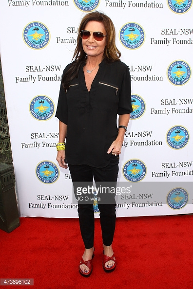 Sarah Palin attends the SEAL-NSW family foundation 2nd annual dinner gala at USS Iowa on May 16, 2015 in San Pedro, California. (Photo by JC Olivera/Getty Images)