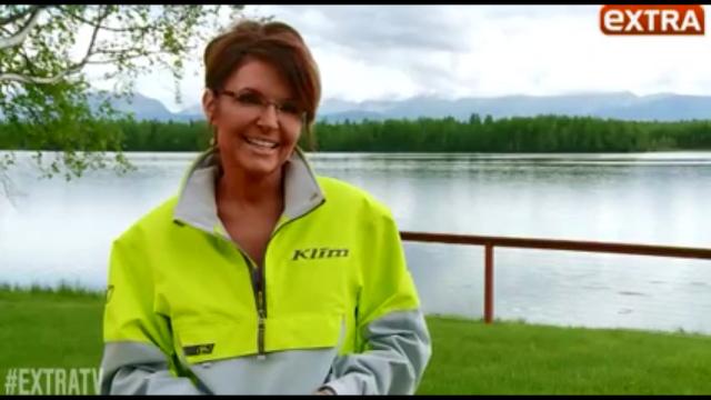 More 2016 Goodness - Sarah Palin, ExtraTV - SEE IT