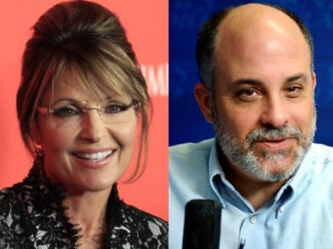 We Have Enough Candidates - Sarah Palin tells Mark Levin