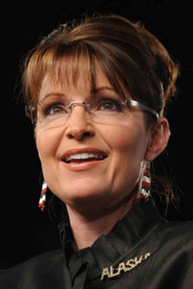 Throwback Thursday: Sarah Palin on the campaign trail.