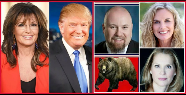 Palin, Trump True Conservatives - Mama Grizzly Radio - HEAR IT