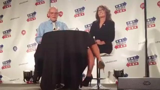 James Carville interviews Sarah Palin
