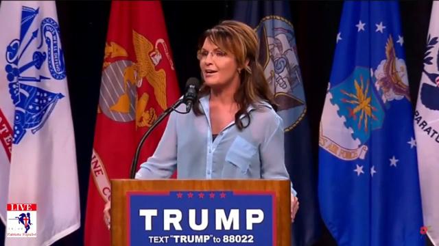 Palin Trump Highlights June 3, 2016 - Sarah Palin stumps for Trump at his San Diego Rally